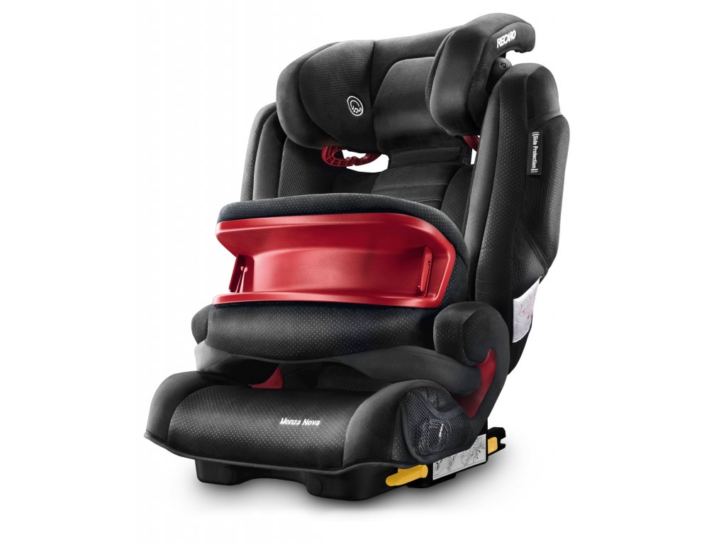RECARO MONZA NOVA IS BLACK