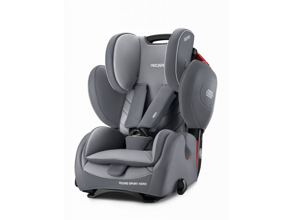 RECARO YOUNG SPORT HERO ALUMINIUM GREY