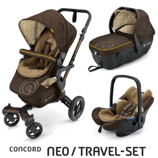 TRAVEL SET NEO AIR+SLEEPER CONCORD - Walnut Brown