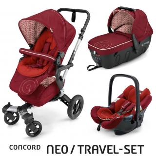TRAVEL SET NEO AIR+SLEEPER CONCORD - Tomato Red