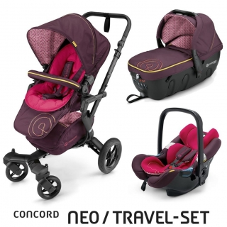TRAVEL SET NEO AIR+SLEEPER CONCORD - Rose Pink