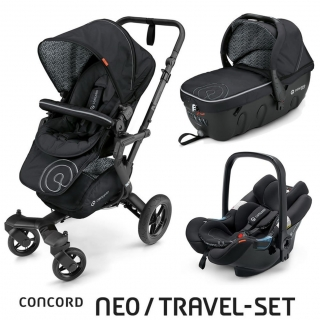 TRAVEL SET NEO AIR+SLEEPER CONCORD - Midnight Black